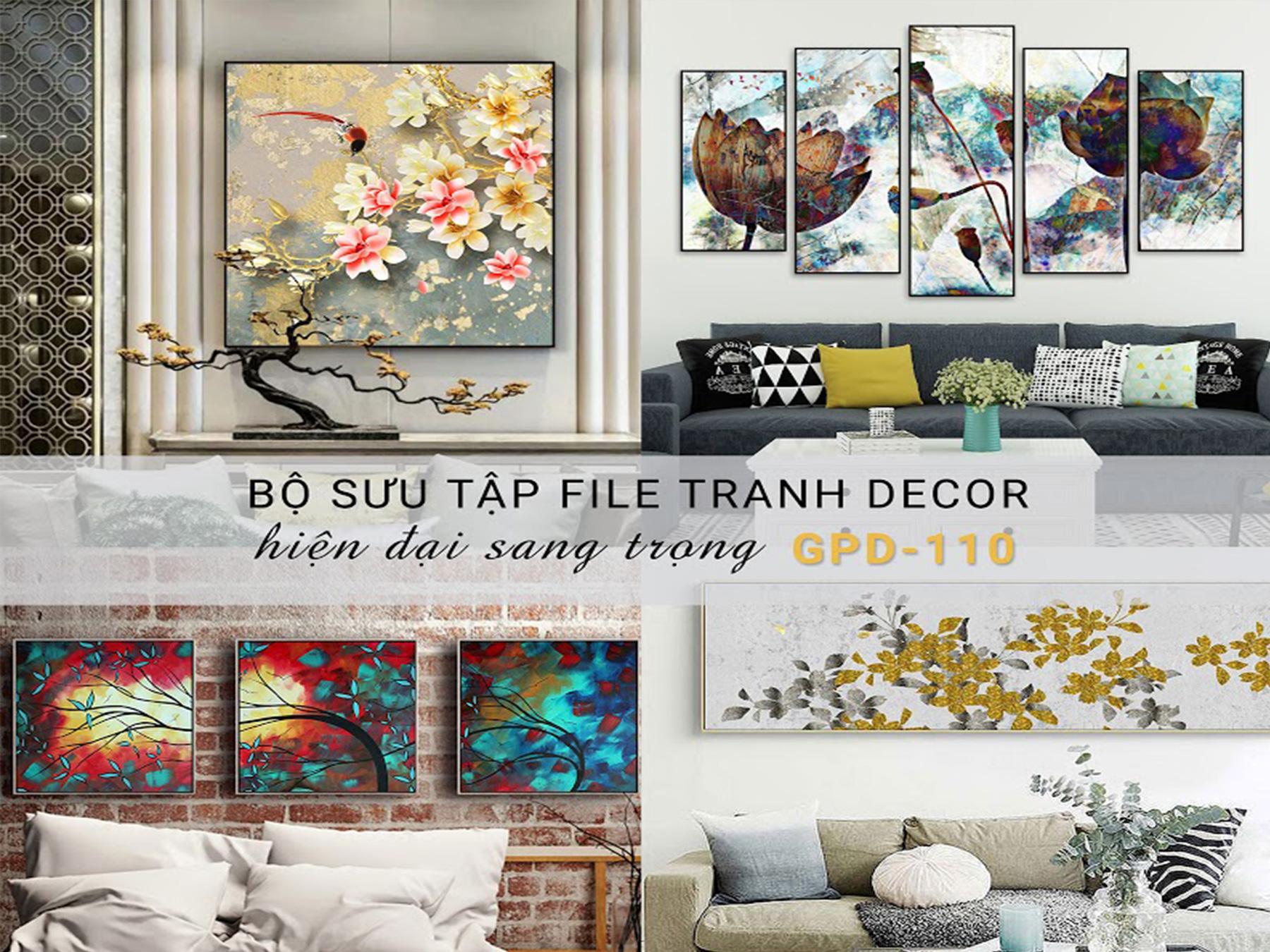 Tranh Trang Trí - Vol58 (GDP110)
