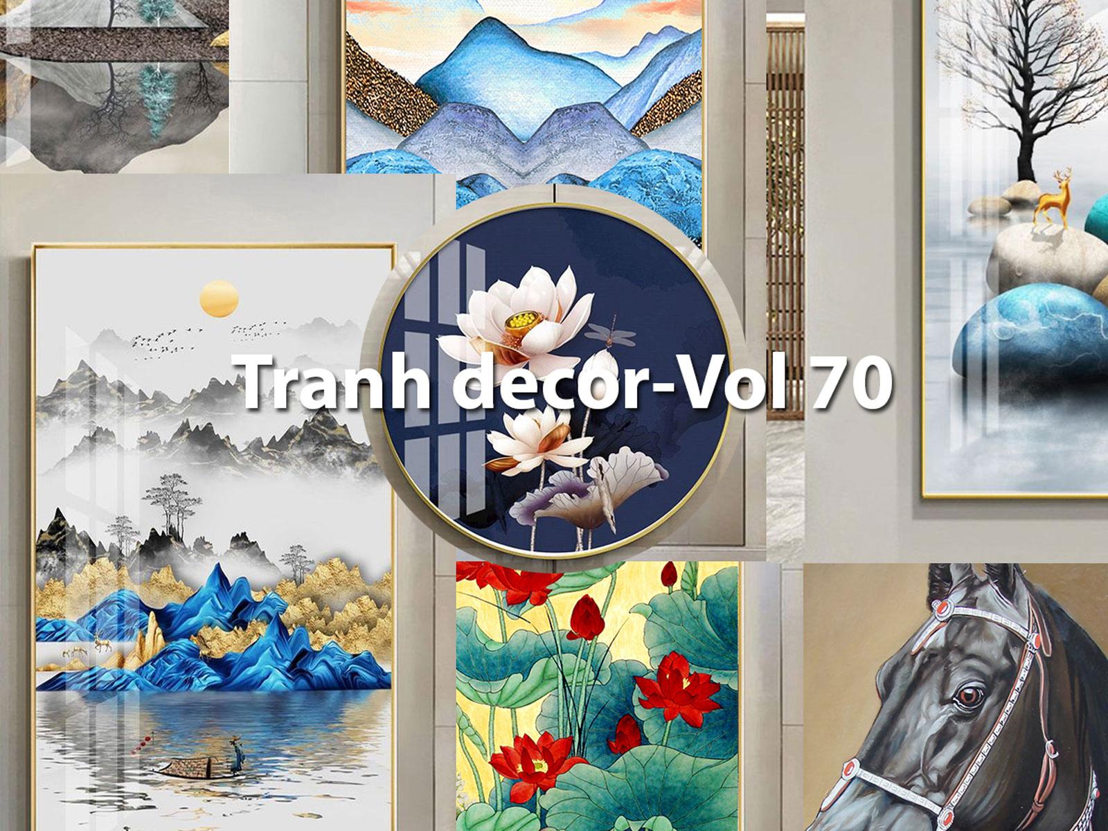 Tranh Trang Trí - Vol70 (NCS-111File)