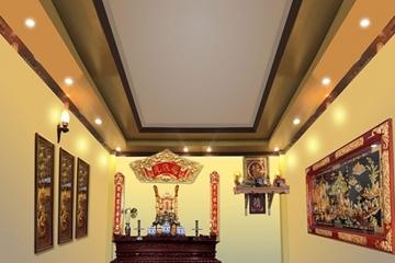 6 loại tranh treo phòng thờ mang phúc lộc vào nhà