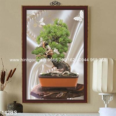 Tranh 3D cây bonsai- 142BS