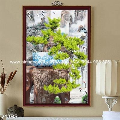 Tranh 3D cây bonsai- 213BS