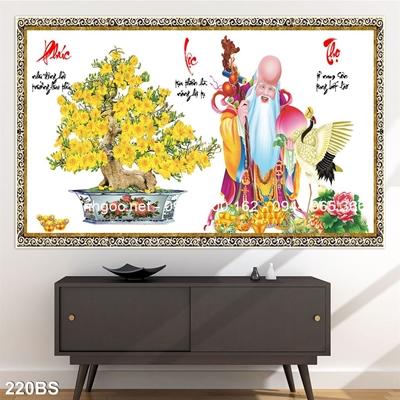 Tranh 3D cây bonsai- 220BS