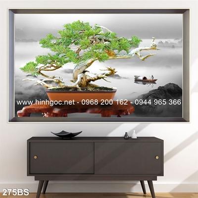 Tranh 3D cây bonsai- 275BS