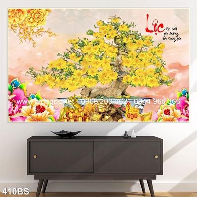 Tranh 3D cây bonsai- 410BS