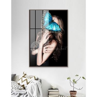 Cô gái và cánh bướm - 888-07