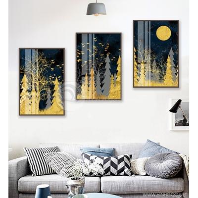Cây thông và trăng - 888-08