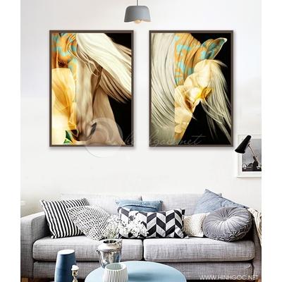 Chân dung ngựa nghệ thuật - 888-47