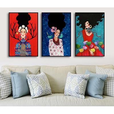 Bộ ba cô gái cá tính màu sắc - DES-90