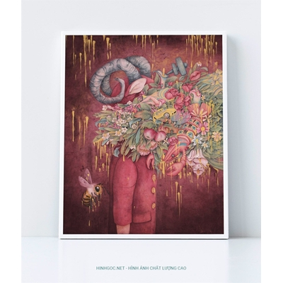 Nghệ thuật trừu tượng - DP080
