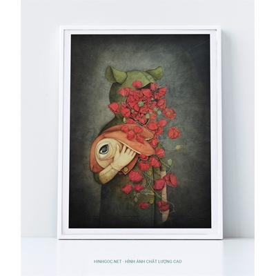 Hoa anh túc - DP084