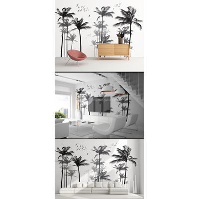 Phong cảnh hàng cây dừa - DT78
