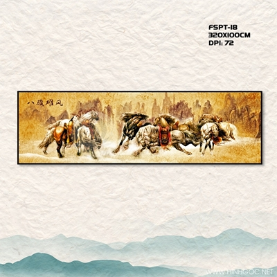 Tranh ngựa - FSPT-18