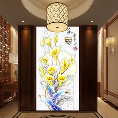 Tranh Hoa ly vàng