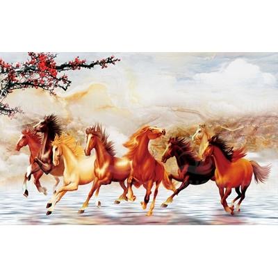 Tranh ngựa mã đáo HG88