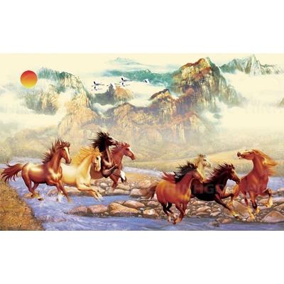 Tranh ngựa mã đáo HG89