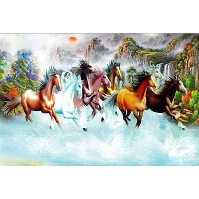 Tranh ngựa mã đáo HGA22