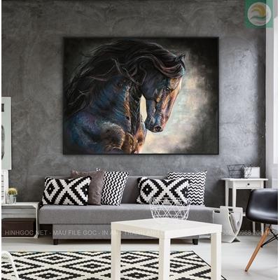 Tranh vẽ ngựa NT04
