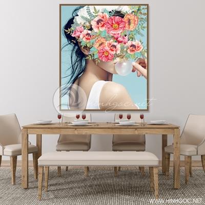 Cô gái bên hoa - STTV-35