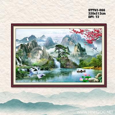 Hồ và núi - STTV2-066