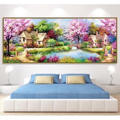 Tranh sơn dầu phong cảnh - STTV3-01