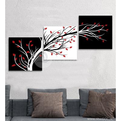 Cây lá đỏ - STTV3-44