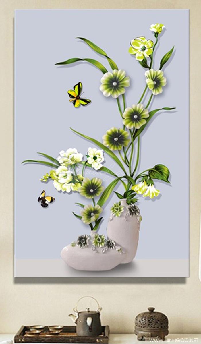Cành hoa xanh - STTV3-50