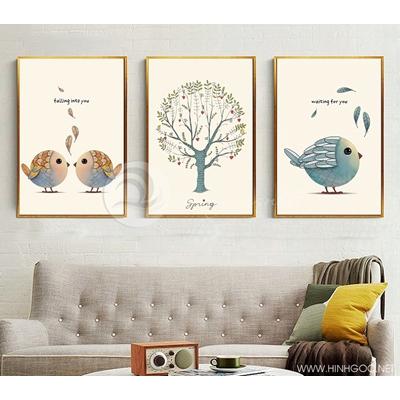 Chim và cây - STTV3-55