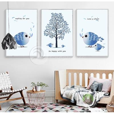 Chim và cây gỗ - STTV3-75