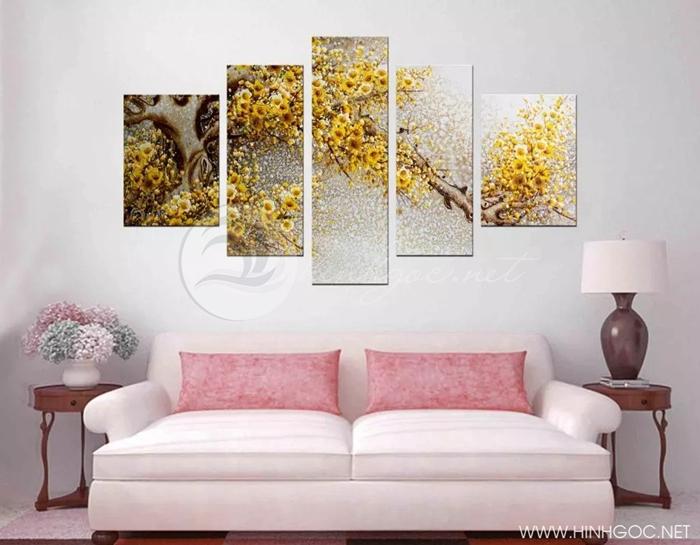 Cây hoa vàng - STTV4-102