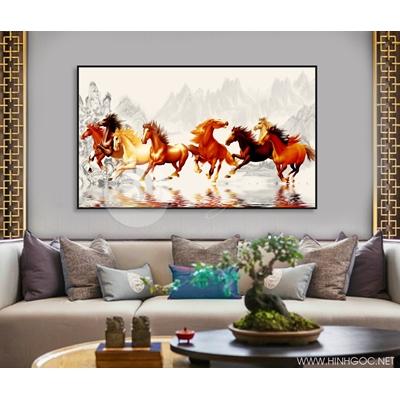 Ngựa và núi đá - STTV4-110