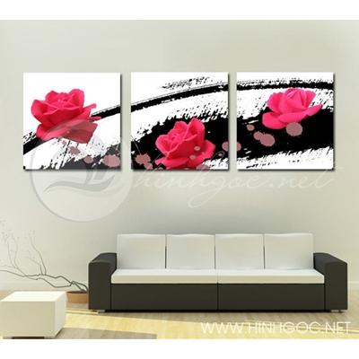 Hoa hồng đỏ - STTV4-43