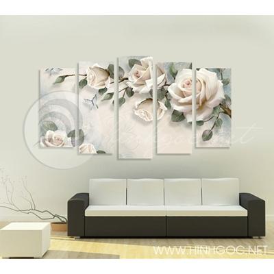Cành hồng trắng - STTV4-69