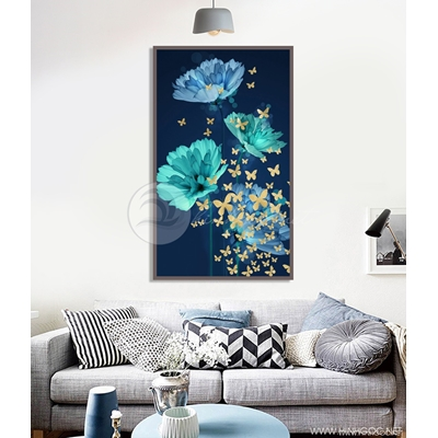 Hoa xanh và bướm - STTV4-90