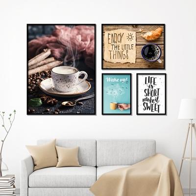Tranh bộ trang trí coffee - STTV5-42