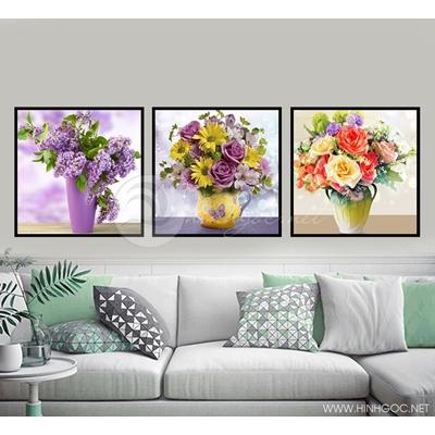 Bình hoa nhiều màu - STTV6-49