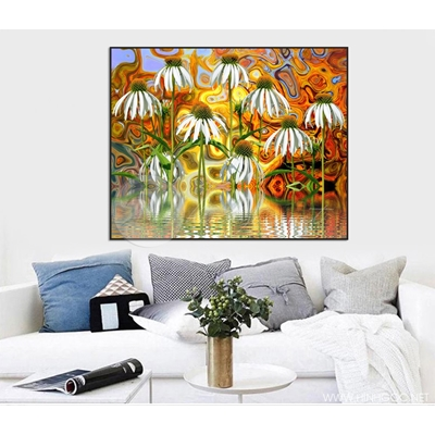 Hoa cúc trắng - STTV6-68