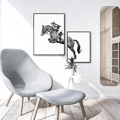 Tranh Ngựa Phi TB08