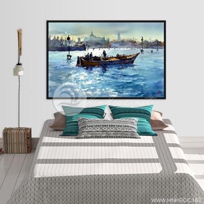 Con thuyền trên biển - TBAV11-41