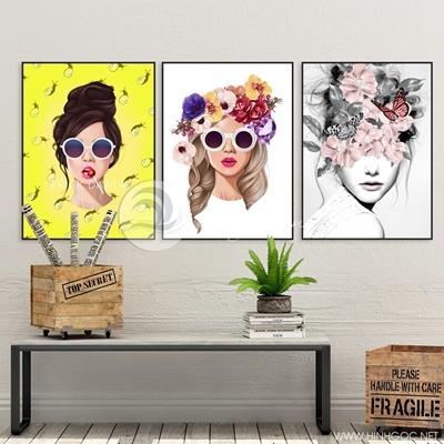 Nghệ thuật ba cô gái thời trang - TBAV12-02