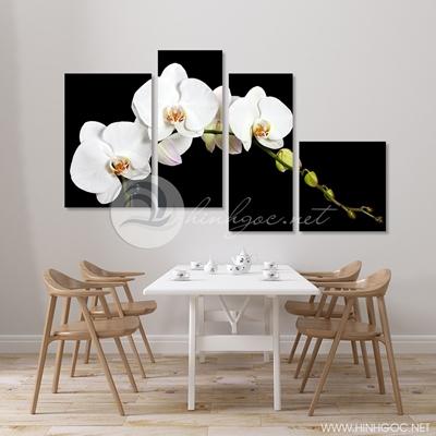 Mộc lan hoa bốn bức trang trí - TBAV12-03