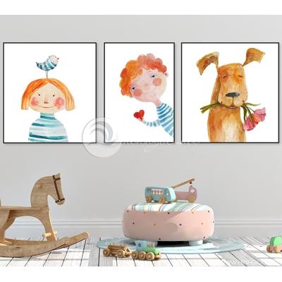 ngộ nghĩnh trang trí phòng trẻ em - TBAV12-15