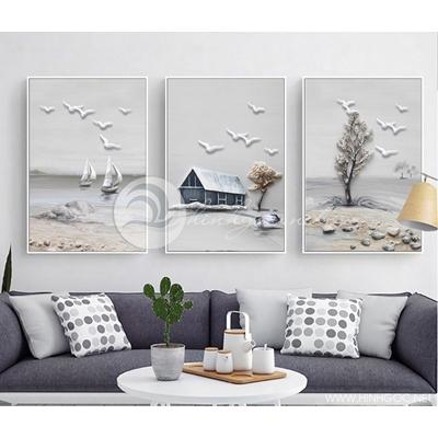 phong cảnh nghệ thuật đơn giản hiện đại  - TBAV12-18