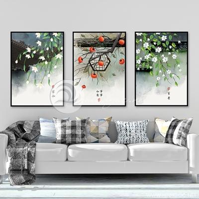 phong cảnh hoa mai đào nở rộ - TBAV12-23