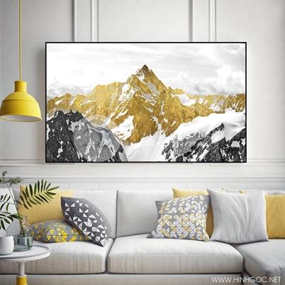 nghệ thuật 3D dát vàng kim sơn - TBAV12-48