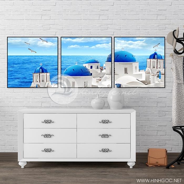 phong cảnh lâu đài bên bờ biển - TBAV12-49