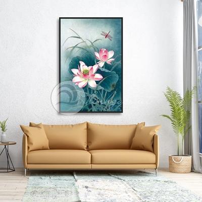 Cánh hoa sen nghệ thuật  - TBAV12-58