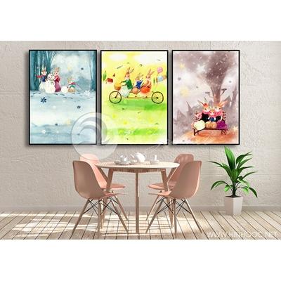 trang trí sắc màu phòng trẻ em  - TBAV12-72