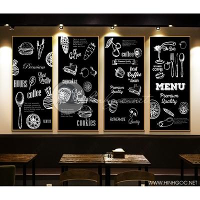 trang trí quán ăn, quán café - TBAV12-75
