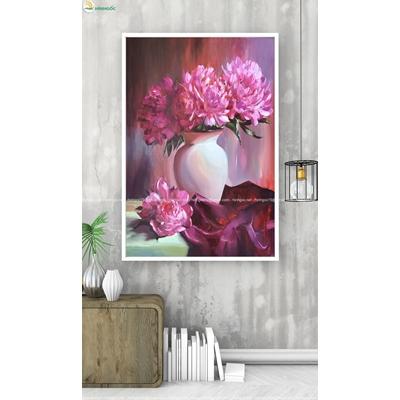 Tranh lọ hoa đẹp TBAV8-54