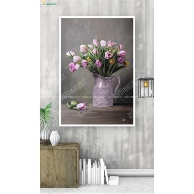 Bình hoa tuylip TBAV8-56